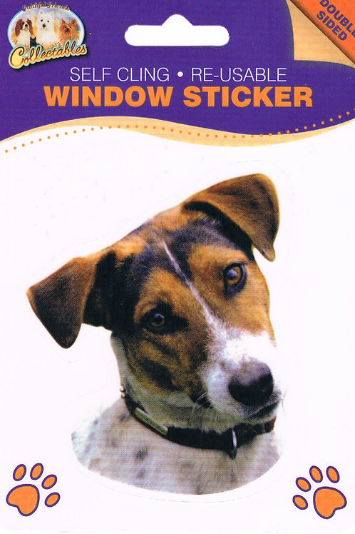 Jack Russel Window Sticker
