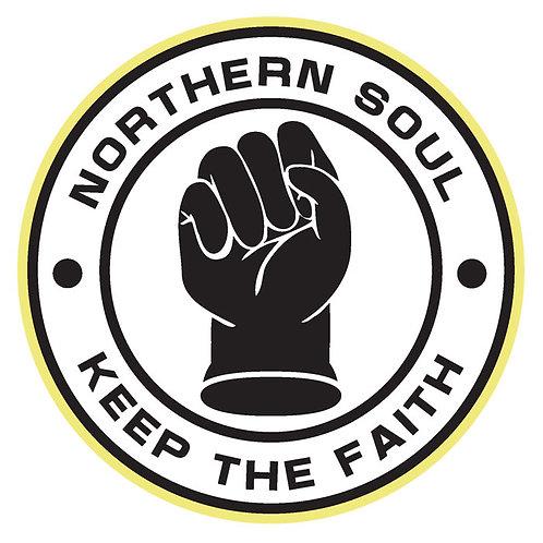 80 Northern Soul Keep The Faith Window Sticker