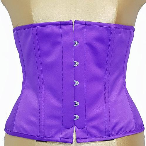 Playgirl Steel Boned Cincher Purple(Underbust Corset) (Size 16)