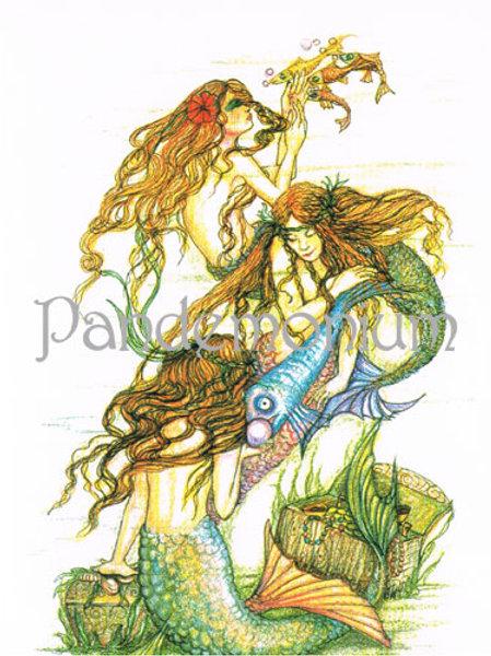 Mermaids Card