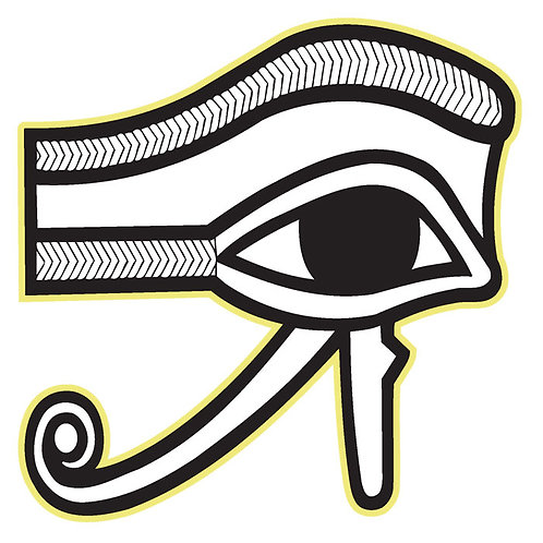 150 Eye Of Horus Window Sticker