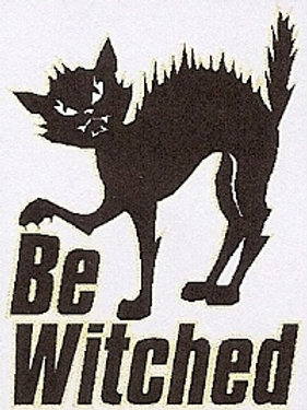 PWD 45 Be Witched Window Sticker
