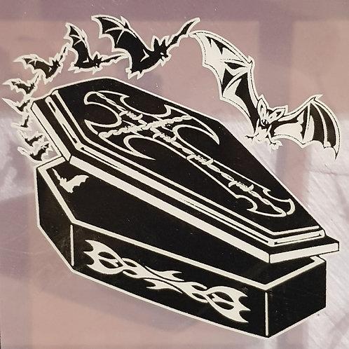 GCP29 Coffin Bats Window Sticker