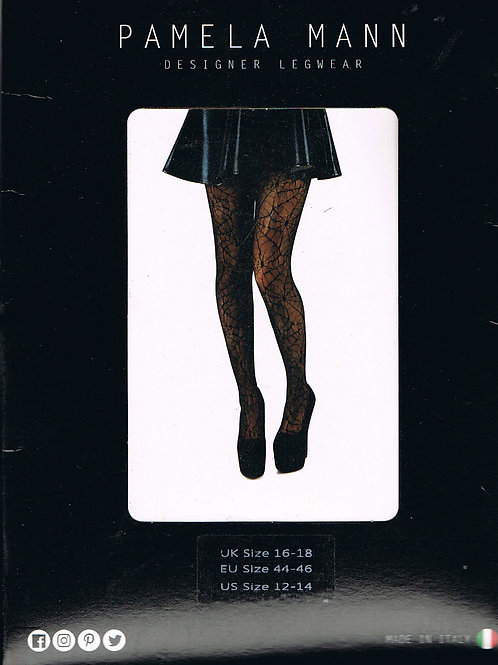 Cobweb Lace Tights 16-18