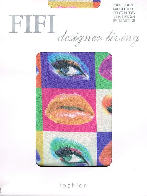 Fifi Lips & Eyes Tights