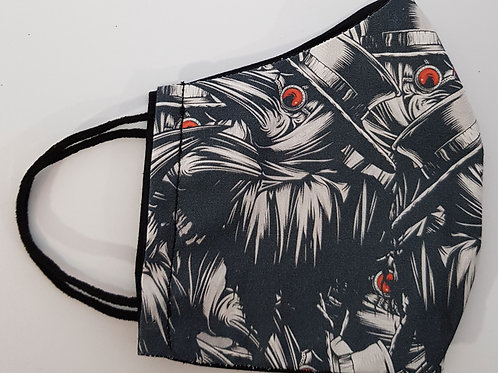Lined Facemask Plague Doctor (Children's/Small Adult)