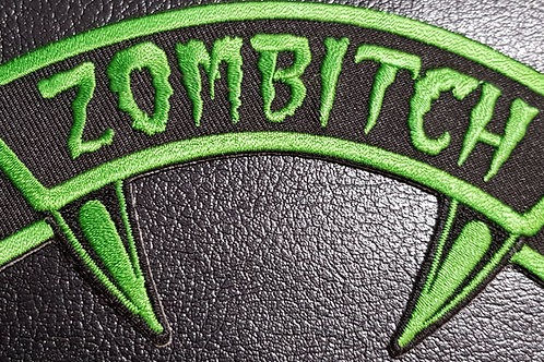 Zombitch Patch Green