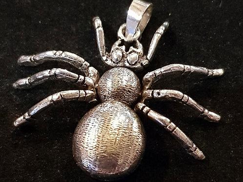 Spider Pendant 925 Silver