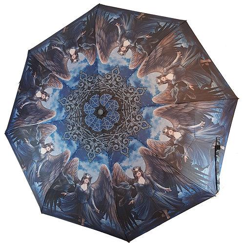 Raven Umbrella