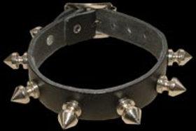 1 Row Spike Leather Wristband