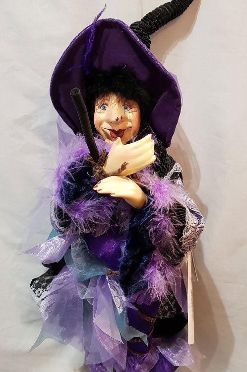 Pendle Witch Cassandra Purple 60cm