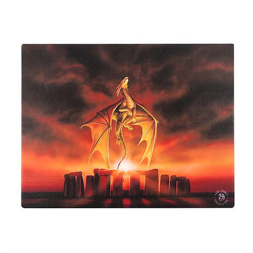 Anne Stokes Wall Plaque Solstice