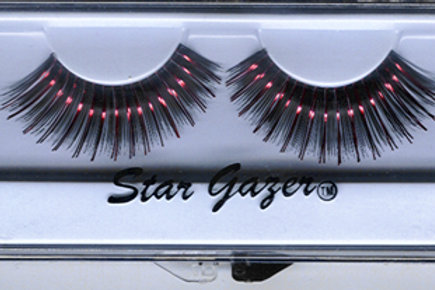 False Lashes (Black & Red)