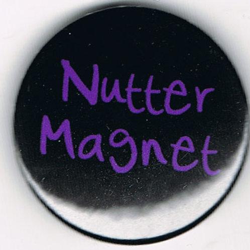 Button Badge Nutter Magnet