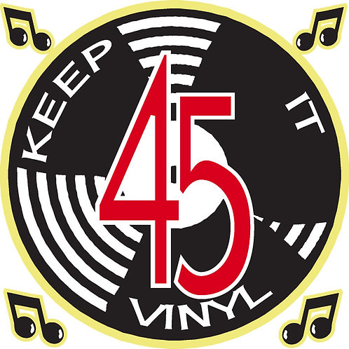 214 Keep It Vinyl Window Sticker