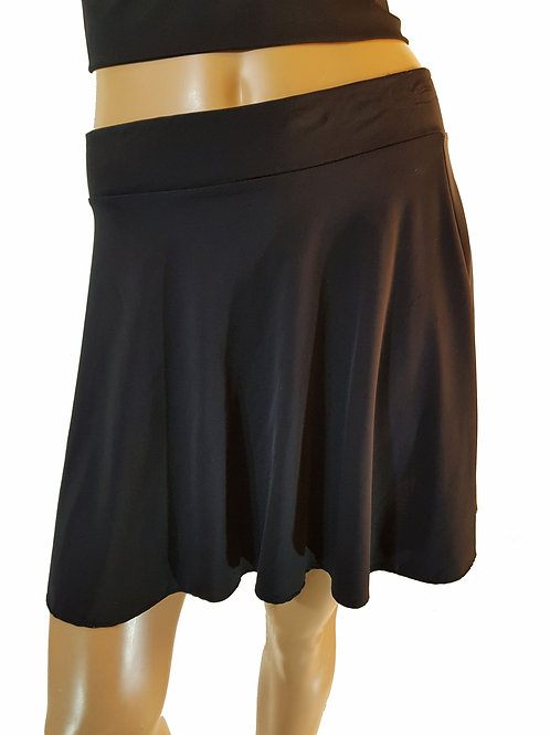 Abba Flared Lycra Skirt (size 10)