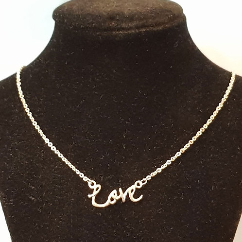 Love Necklace 925 Silver