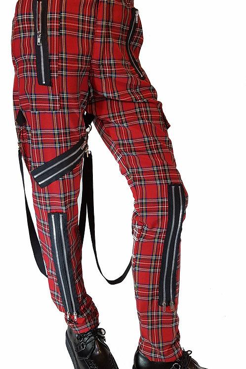 Tartan Bondage Trousers