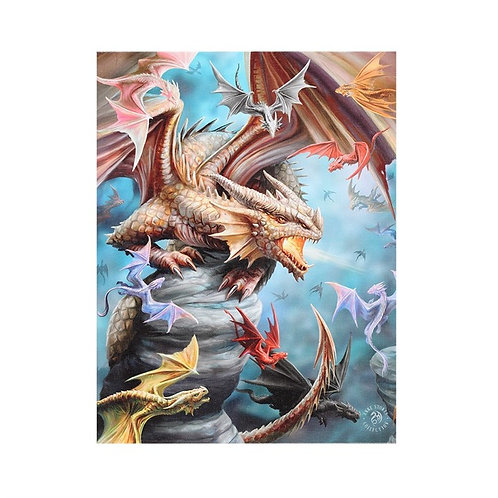 Anne Stokes Wall Plaque Dragon Clan