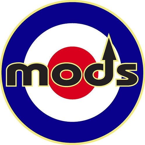 Mods Arrow Window Sticke