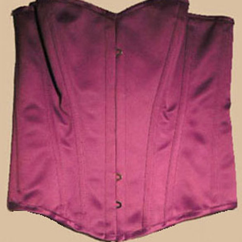 Playgirl Steel Boned Corset (Purple) (Size 12)
