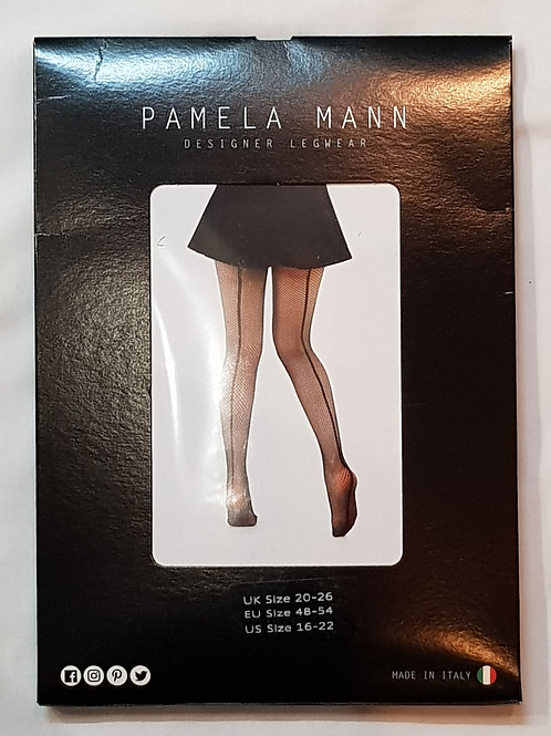 Back Seamed Net Tights 20-26