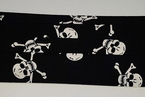 Large Skull X-Bones Folded Mask