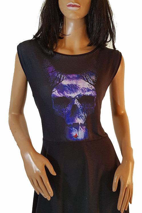 Skater Dress Skull (L)