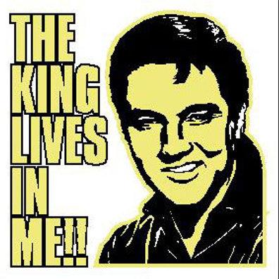 USR12 The King Lives In Me!! Window Sticker