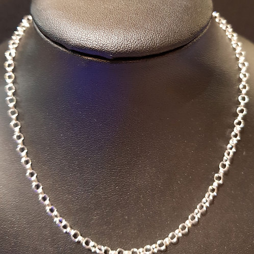 """Necklace Chain 16"""" 925 Silver"""
