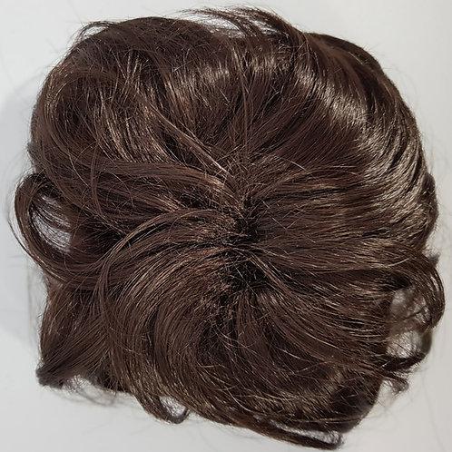 Hair Bun Dark Brown