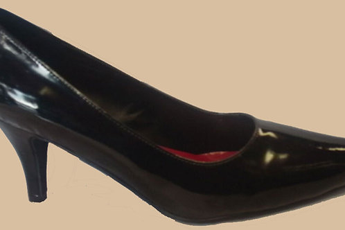Andrea Court Shoes Patent Size 9(UK) CD,TS,TV