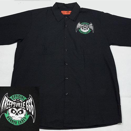 Kreepsville Official Horror Cadet Shirt