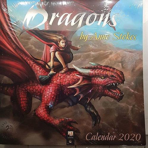 Dragons Calendar 2020