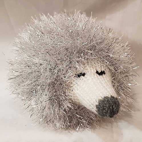 Hedgehog Small Silver