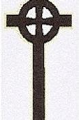 PWD06 Celtic Cross Window Sticker