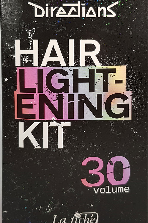 Hair Lightening Bleach Kit 30 Volume