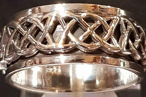 Celtic Band Ring 10mm