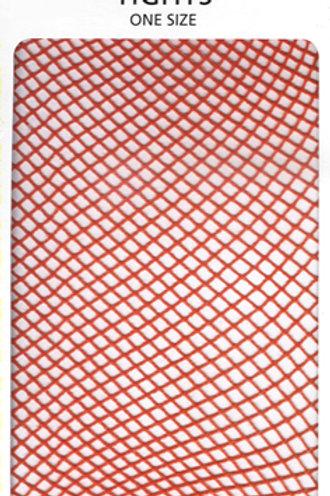 Fishnet Tights (Flo Orange)