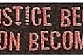 GCP13 When Injustice becomes Law Window Sticker