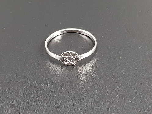 Small Pentacle Ring