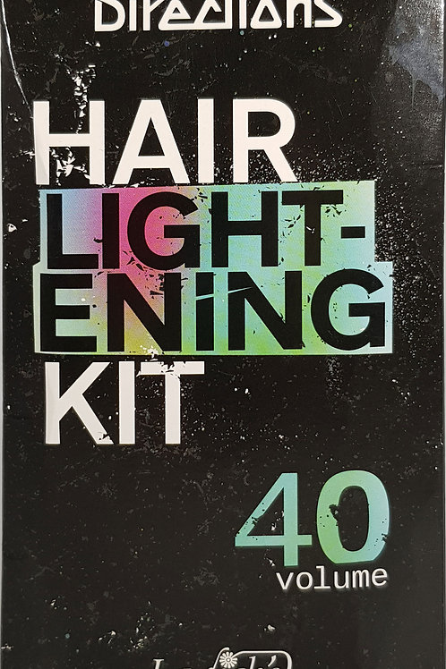 Hair Lightening Bleach Kit 40 Volume