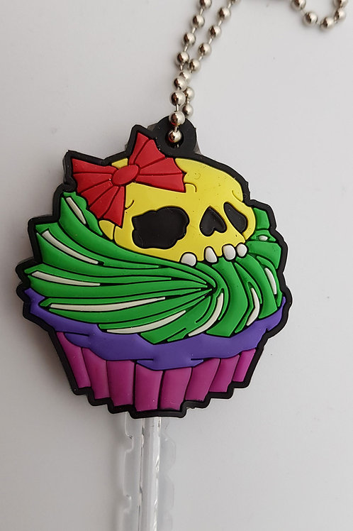 Cupcake Key Fob