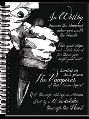Notebook The Vampires