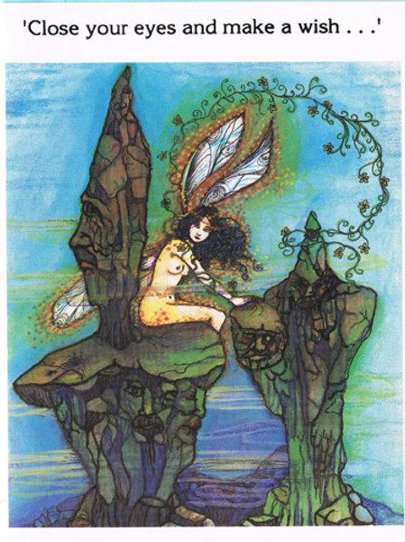 Fairy Rock Card