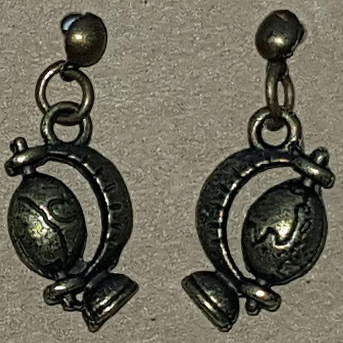 Globe Drop Earrings