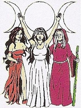 PWD 43 mother Maiden Crone Window Sticker