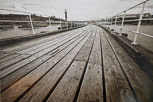 Whitby Pier Print