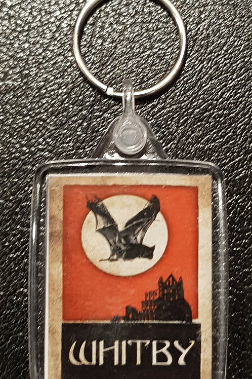 Whitby Keyring Red