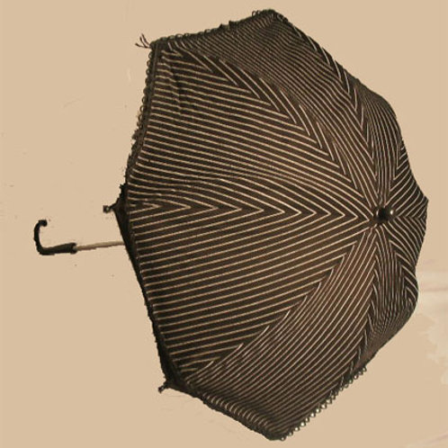 Pinstripe Parasol